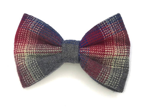 Fall Flannel Bow Ties (Velcro)