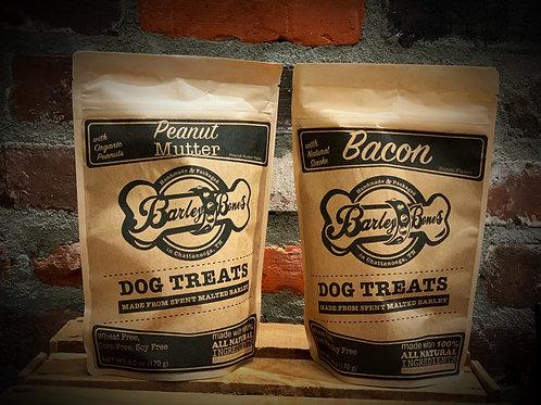 Barley Bones Dog Treats (2 flavors)
