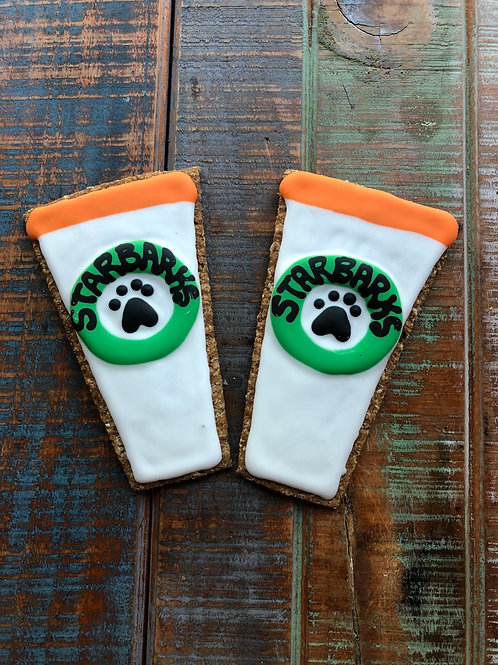 Starbarks Coffee & Donut cookies