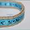 Thumbnail: Green Bean Hemp Dog Collar Tiny Bandana (5/8 inch wide)