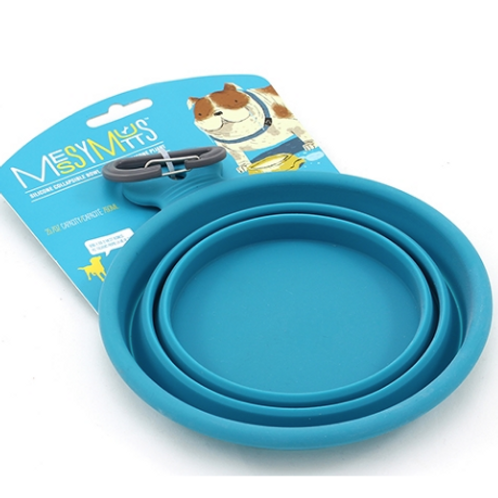 Messy Mutts Collapsible Travel Bowl (2sizes)