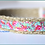 Thumbnail: Green Bean Hemp Dog Collar Flamingo (5/8 inch wide)