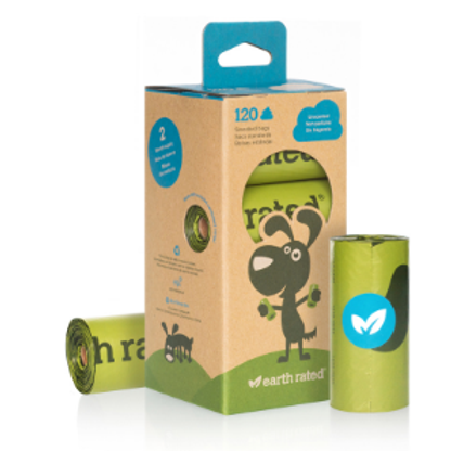 Earth Rated Poo Bags - Unscented
