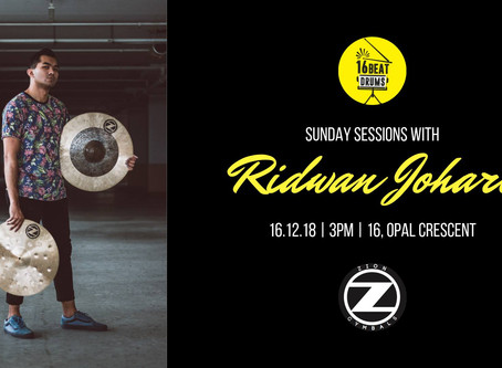 Sunday Sessions with Ridwan Johari