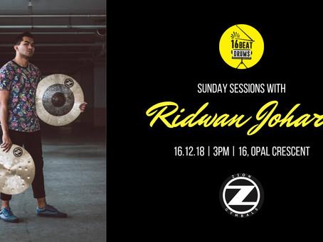 Sunday Sessions with Ridwan Johari