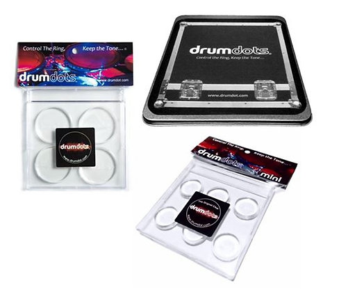 Drumdots Metal Road Case+Original+Mini SET