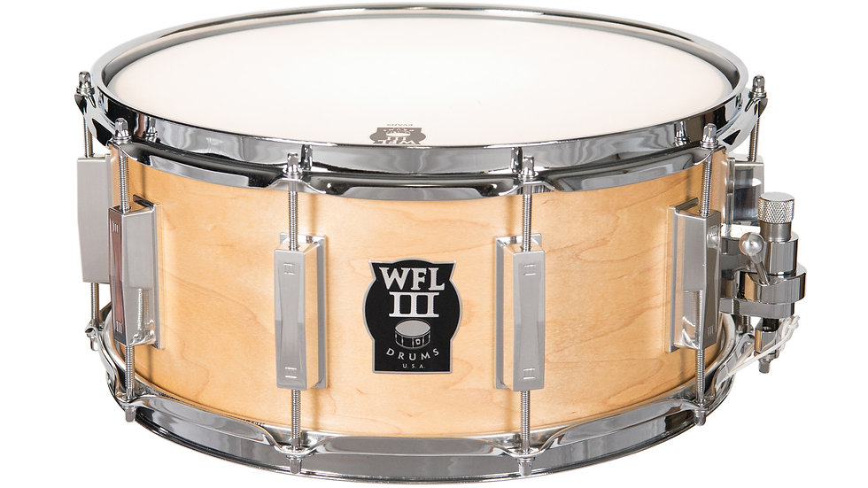 WFLIII Maple Snare Drum 6.5X14 Natural