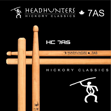 Headhunters Hickory Classic 7A Stretch