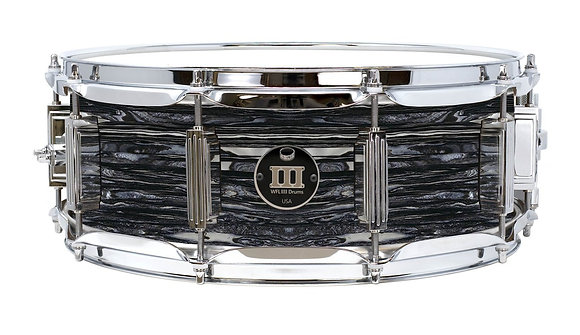 """WFL III Maple Snare Drum - Black Oyster 5""""x14"""" Chrome Lugs,S1 Strainer"""