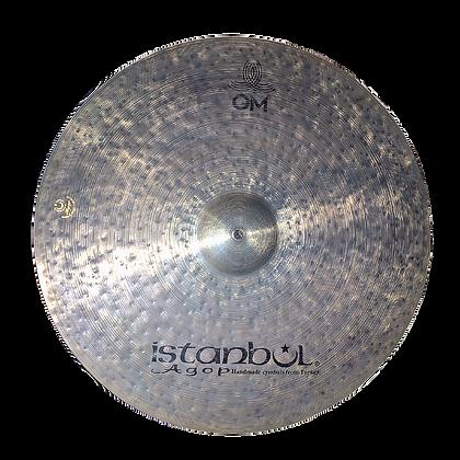 "Istanbul AGOP 22"" Cindy Blackman signature OM ride ($1352.55)"