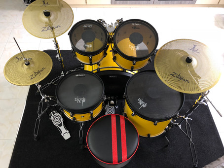 Goodbye Electronic Drums, Hello To Black Hole.