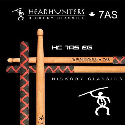 Headhunters Hickory Classic 7A Stretch Extreme Grip
