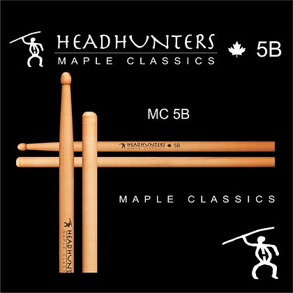 Headhunters Maple Classic 5B