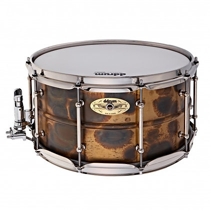 "ddrum Modern Tone Brass Snare drum 14""x7"" - Brass Patina"