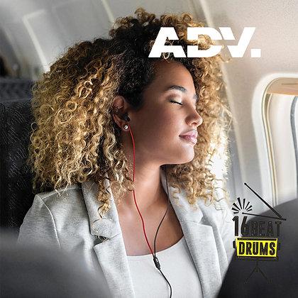 ADVANCED Sleeper Silicone Unibody Earphones [Black]