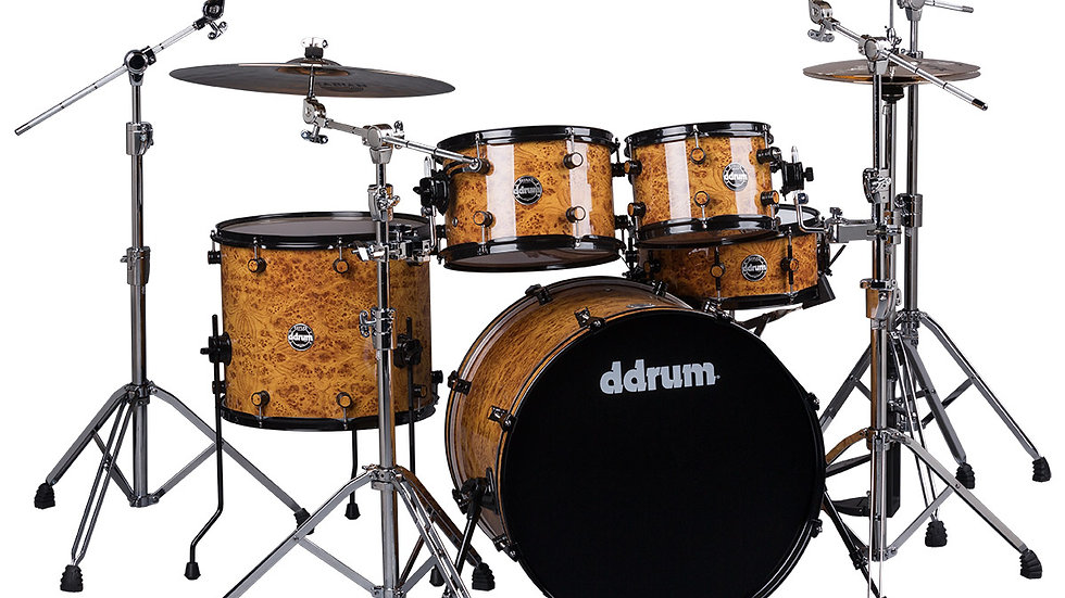 ddrum Reflex Mappa Burl Wrap (Shell Pack)