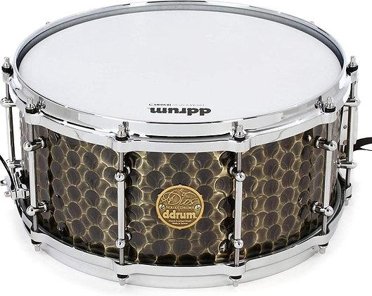 "Dios Snare Drum - Hand Hammered Bronze 14""x6.5"""