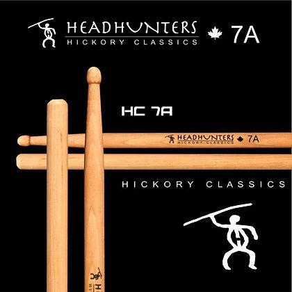 Headhunters Hickory Classic 7A