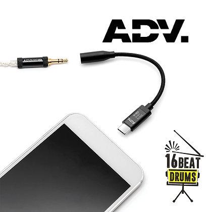 ADVANCED Accessport Lite DAC/Amp USB-C for Android - Black