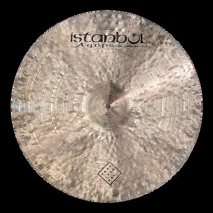 "Istanbul Agop 22"" Traditional Dark Ride ($1,174.75)"