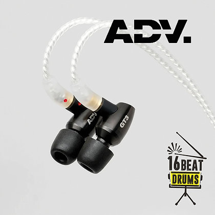 ADVANCED GT3 Superbass Sonorous In-ear Monitors - Black