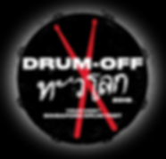 (Thai) Drum off 2019 logo (black bg and