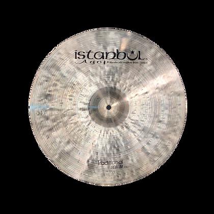 "Istanbul AGOP 18"" Traditional Medium Crash ($742.95)"