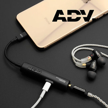 ADVANCED Accessport 2 Lightning for Iphone charger and amp DAC - Black