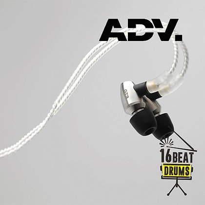 ADVANCED GT3 Extreme-resolution In-ear Monitors - Silver