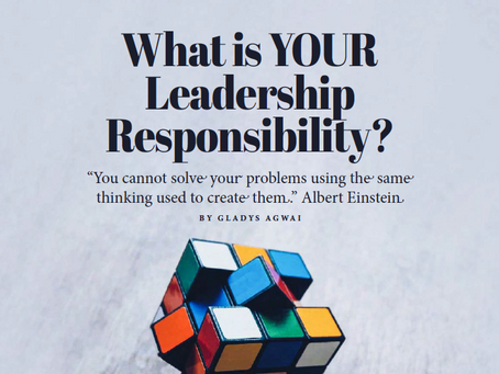What is YOUR Leadership Responsibility?