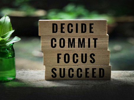 DID YOU FORGET YOUR COMMITMENT TO YOUR COMMITMENT?