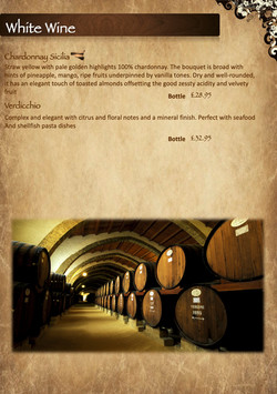menu 2021 sicily wine list