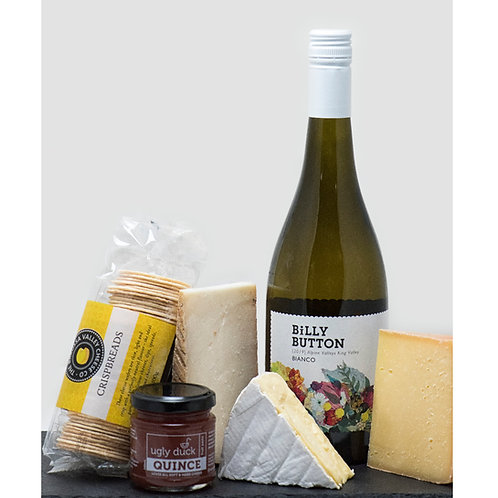 Cheese & White/Rose Wine Gift Pack