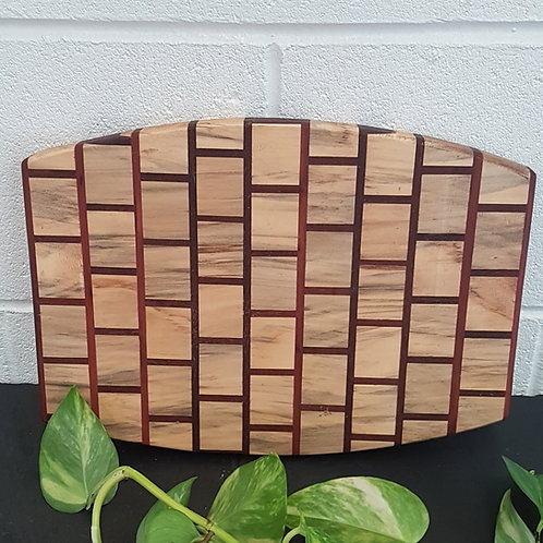 Men's Shed oval cheese board