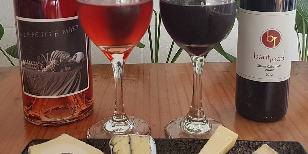 Wine and Cheese with Bent Road