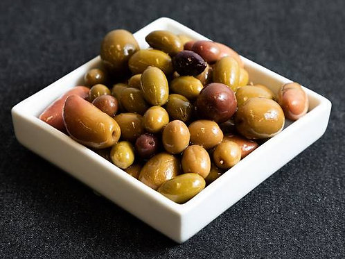 Add Mixed Olives to your takeaway platter