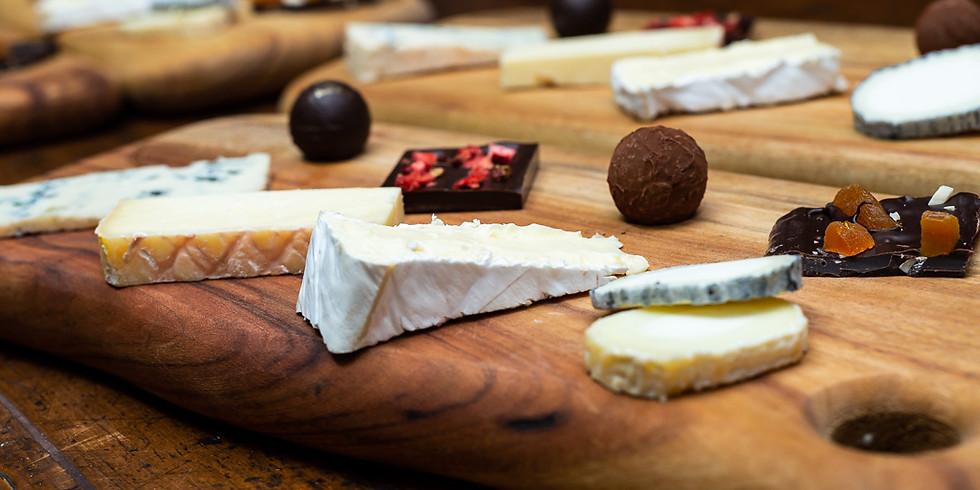 Cheese and Chocolate Pairing with Chokolaj