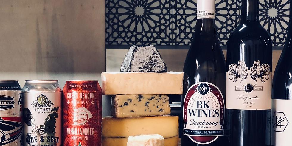Beer V's Wine Cheese Pairing