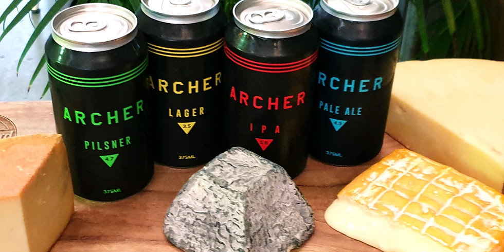 Cheese and Beer with Archer Brewing