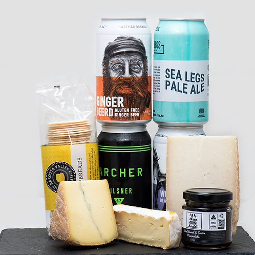 Beer & Cheese Gift Pack