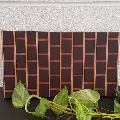 Men's Shed rectangle wooden board