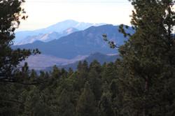 View of Pikes Peak