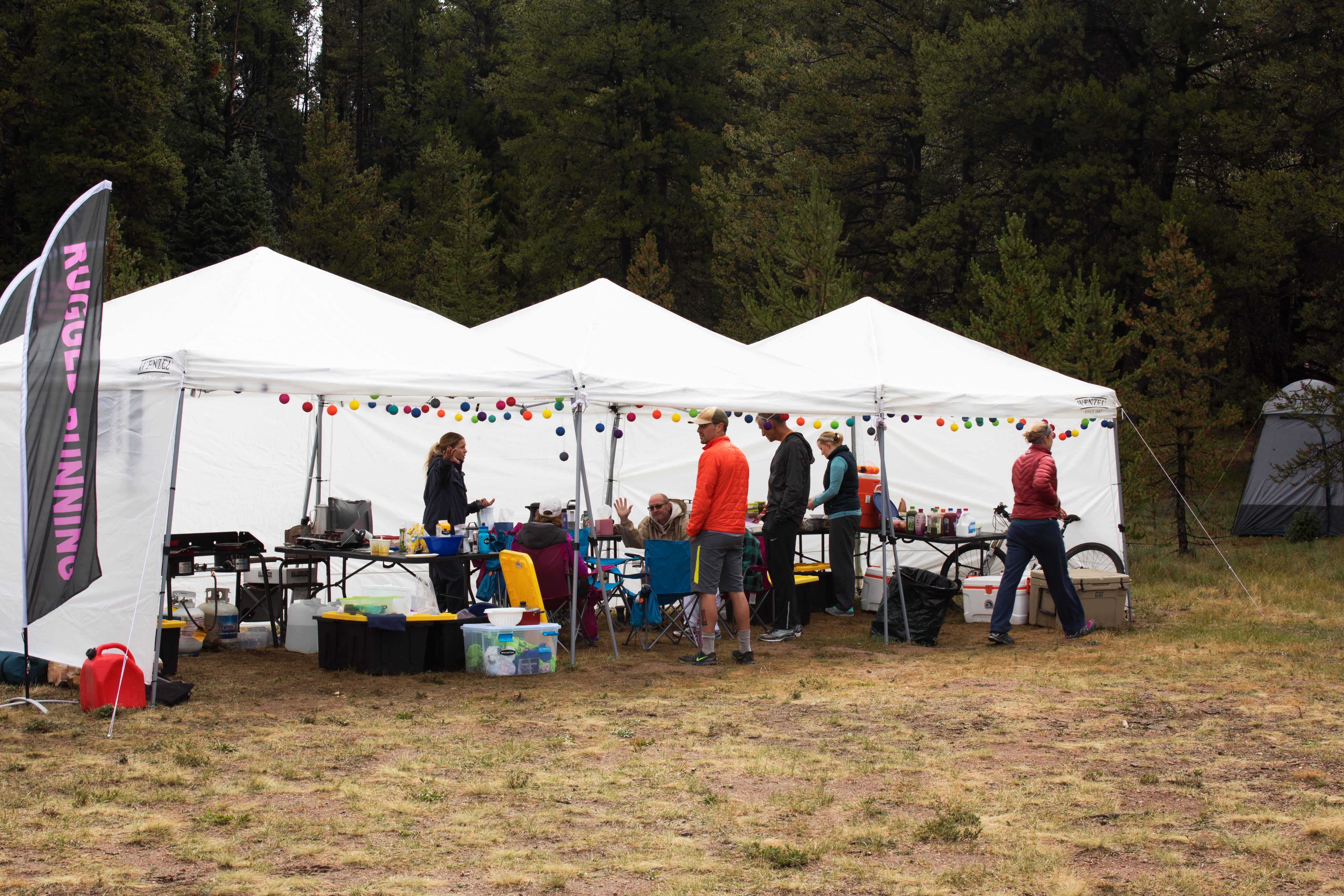 Camp Food Tents
