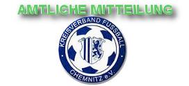 Amtliche Mitteilung KVFC April 2016
