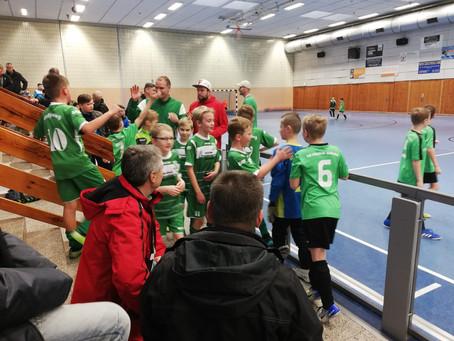 Grün-Weiße E- Junioren ziehen gemeinsam in die HKM Finalrunde ein.