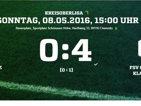 Klaffenbach 1 überzeugt mit 4:0 Auswärtssieg gegen VTB