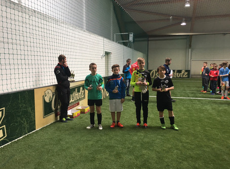D1-Junioren: 4. Platz beim 1. CPSV Indoor-SoccerCup