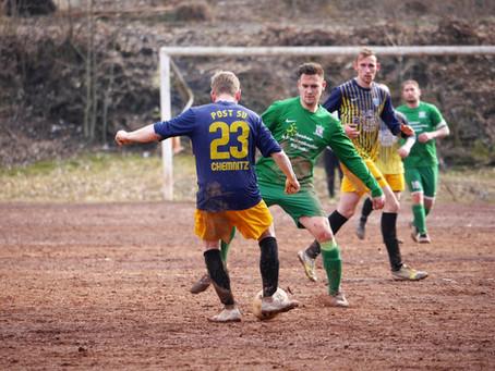 1. Herren: Starke Leistung beim 3:1-Auswärtssieg gegen Post SV Chemnitz