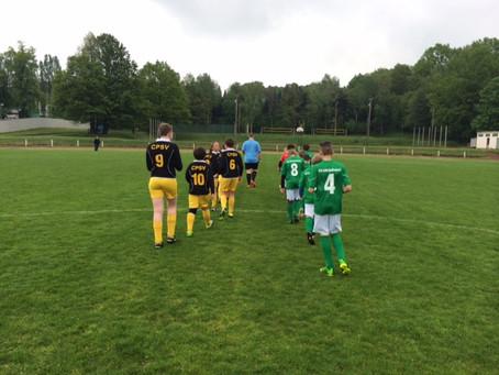 D-Junioren: 3. Saisonsieg gegen Polizei SV Chemnitz