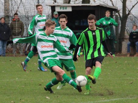 B-Junioren: 5:0 Erfolg im Pokal gegen SpG Reichenbrand /Grüna